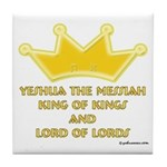 King Of Kings Tile Coaster