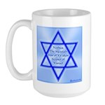 Star of Jacob Large Mug