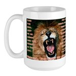 Yeshua, The Lion Of Judah Large Mug
