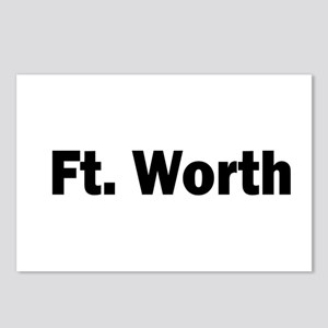 Ft. Worth Postcards (Package of 8)