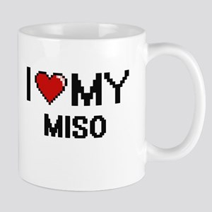 I Love My Miso Digital design Mugs