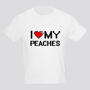 I Love My Peaches Digital design T-Shirt