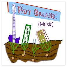 Buy Organic Music Poster