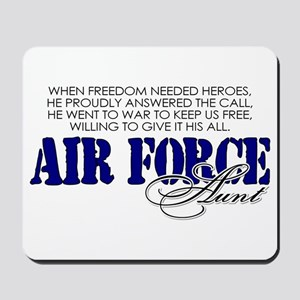 When freedom needed heroes: USAF Aunt Mousepad
