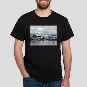 Lake Hood, Alaska, and mountains T-Shirt