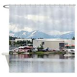 Aviation Shower Curtains