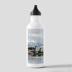 Lake Hood, Alaska, and Stainless Water Bottle 1.0L