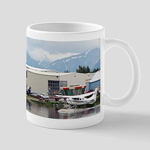 Lake Hood, Alaska, and mountains Mugs