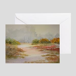 Foggy Carmel Morning Note Cards (Pk of 10)