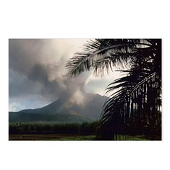 Pagan Volcano Postcards (Package of 8)