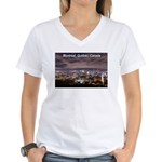 Montreal by night Women's V-Neck T-Shirt