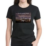 Montreal by night Women's Dark T-Shirt