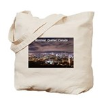 Montreal by night Tote Bag