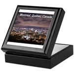 Montreal by night Keepsake Box