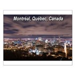 Montreal by night Small Poster