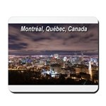Montreal by night Mousepad