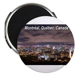 Montreal by night Magnet