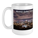 Montreal by night Large Mug