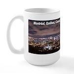 Montreal by night Large Mug
