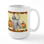 Afghan Hound 'pumpkin Spice' Mugs