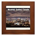 Montréal Framed Tile