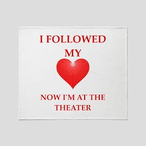 theater Throw Blanket