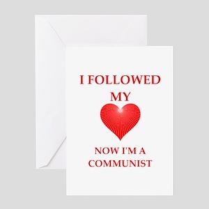communist Greeting Cards