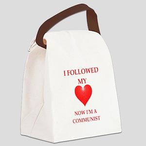communist Canvas Lunch Bag