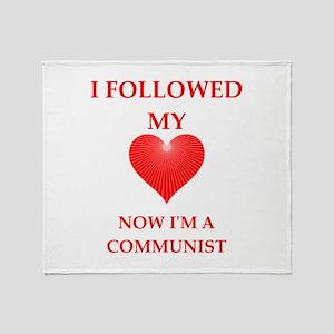 communist Throw Blanket