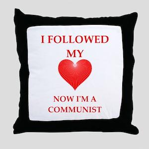 communist Throw Pillow