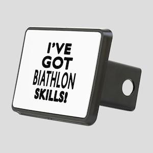 Biathlon Skills Designs Rectangular Hitch Cover