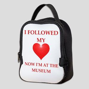 museum Neoprene Lunch Bag