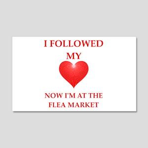 flea market Wall Decal