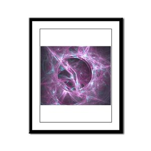 Wormhole Framed Panel Print