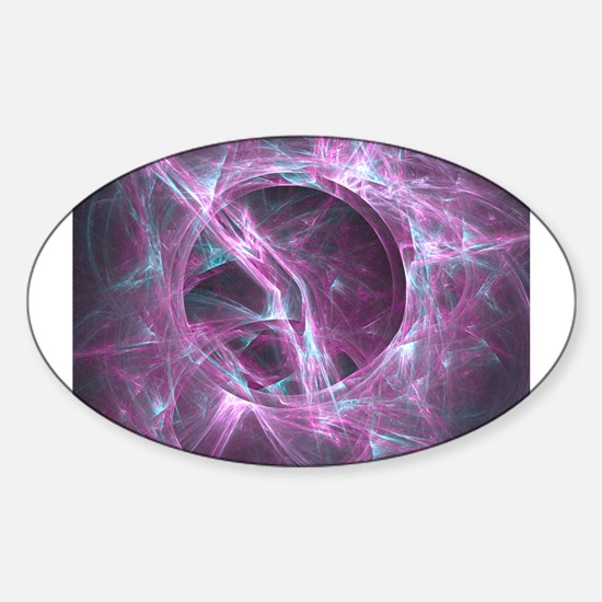 Wormhole Oval Decal
