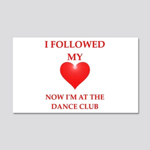 dance club Wall Decal