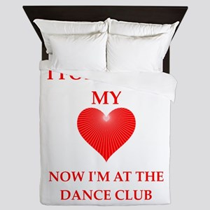 dance club Queen Duvet