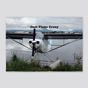 Just plane crazy: float plane 21 5'x7'Area Rug