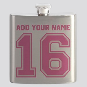 Custom 16th Birthday Flask
