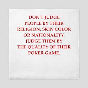 poker Queen Duvet