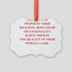 pinball Ornament