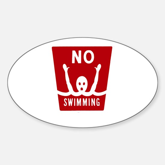 NO SWIMMING Decal