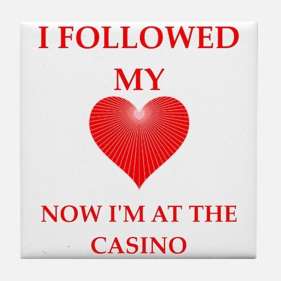 casino Tile Coaster