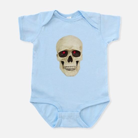3D Surreal Skull Infant Bodysuit