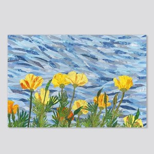Cailfornia Poppies Postcards (Package of 8)