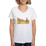 Inside Old Quebec Women's V-Neck T-Shirt