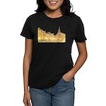 Inside Old Quebec Women's Dark T-Shirt