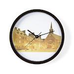 Inside Old Quebec Wall Clock