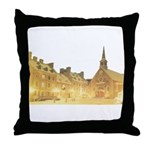 Inside Old Quebec Throw Pillow