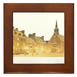 Inside Old Quebec Framed Tile